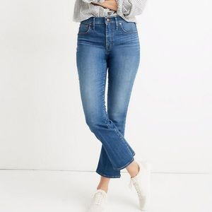 MADEWELL Cali Demi Boot Jeans NWT in Size 37P